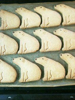 foodmood/白くまクッキー