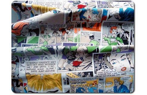 Čalounická látka Komiks