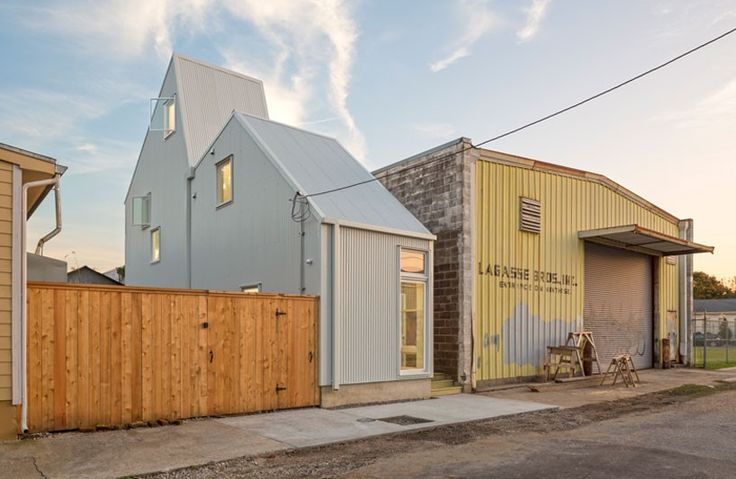 OJT develops staggered starter home* project in new orleans