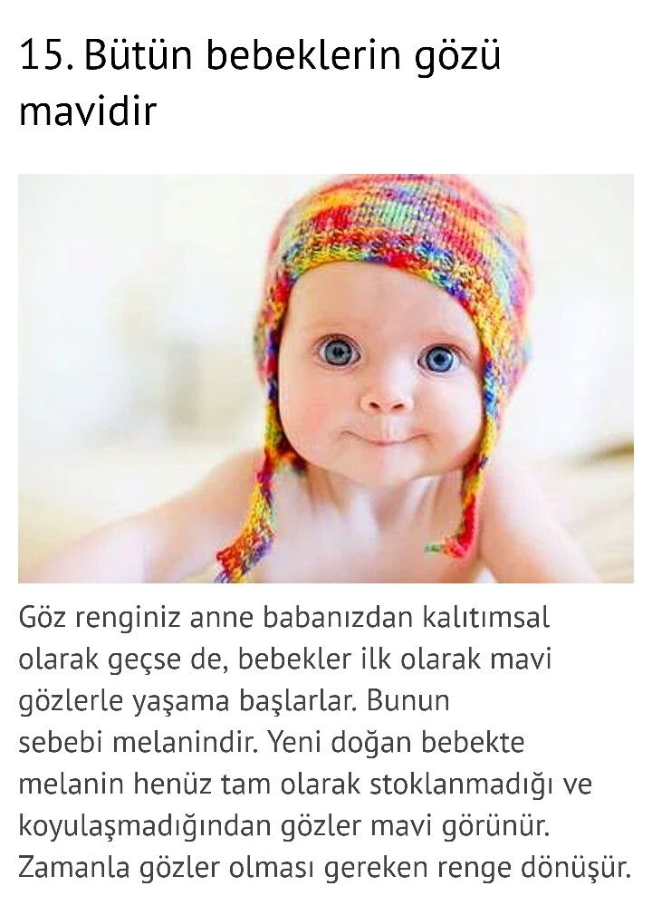 Mavi gözlü küçük insanlar :)