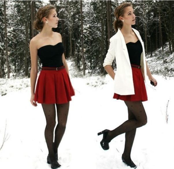 Winter White Fashion Pinterest
