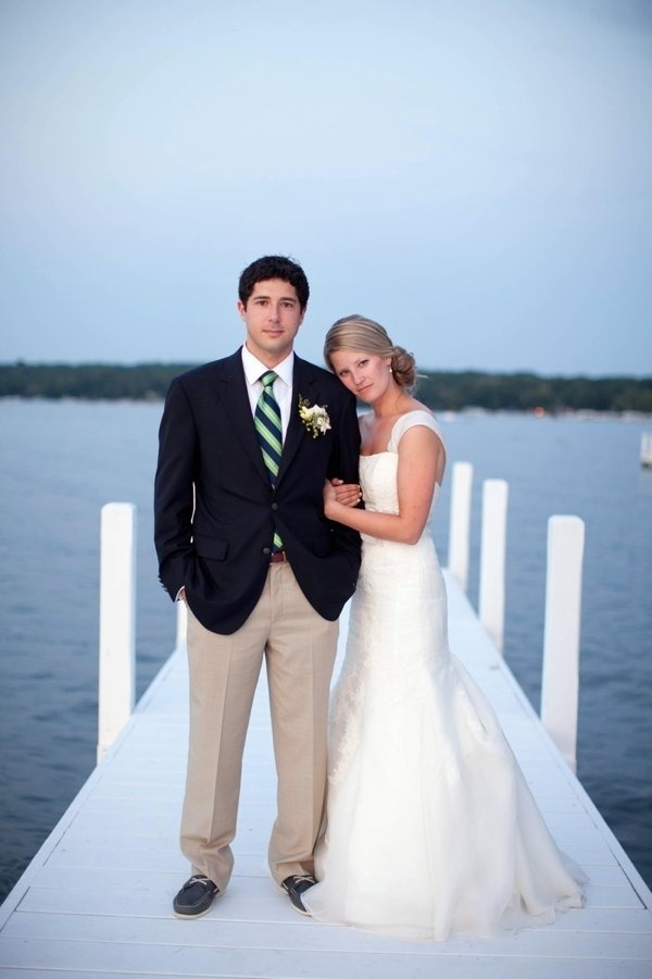 love the hair.  and the groom's outfit.: Christy Tyler, Christytylerphotographi Com, Lakes Geneva, Boats Shoes, Wisconsin Wedding, Floral Design, Grooms Outfit, Grooms Ties, Tyler Photography