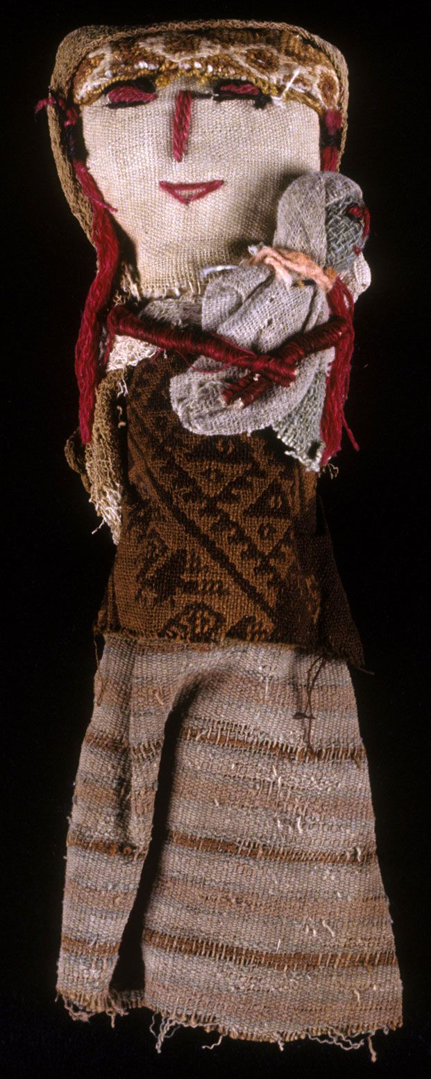 Peruvian Dolls: A Bridge Between the Past and Present (Figure 1. Doll, 1950-1995; textiles, 1000-1476, Chancay, Peru, cotton, alpaca,)