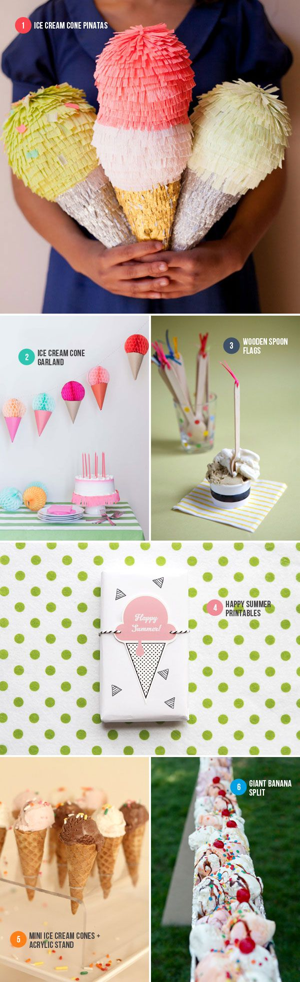 Ice Cream Party Ideas | Oh Happy Day!