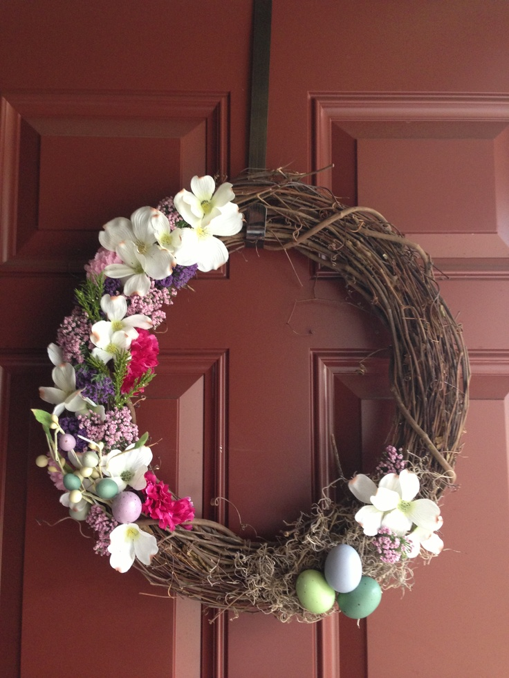 Homemade Easter Wreath!