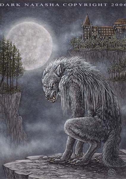 "Heritage - ""In Germany the werewolf stalks on a full moon."" art of Dark Natasha"