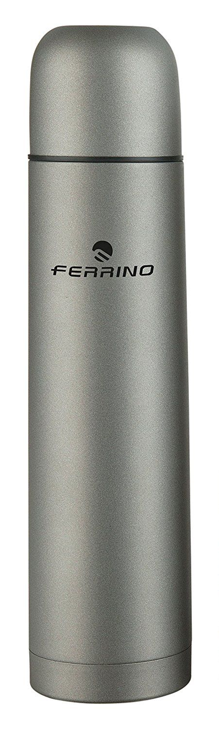 Ferrino Thermos Flask, Grey, 1L ** Want to know more, click on the image. (This is an affiliate link)