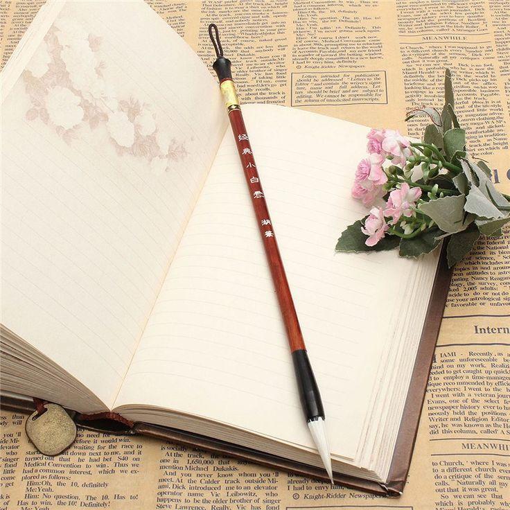 Nowoczesne Większe Regularne Malowanie Pędzlem Pisania Skrypt Chińskiej Kaligrafii Szczotki Szczotki Pen do Wełnianych i Królik Włosów(China (Mainland))