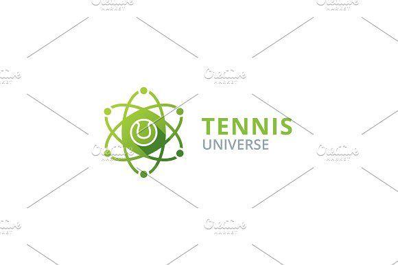 Tennis Logo Logo Design Template Beautiful Logos Design Logo Design