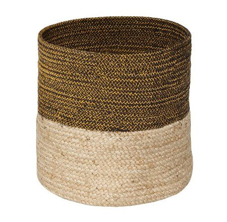 Jute Storage Bin, Found on Savvyhomeblog.com