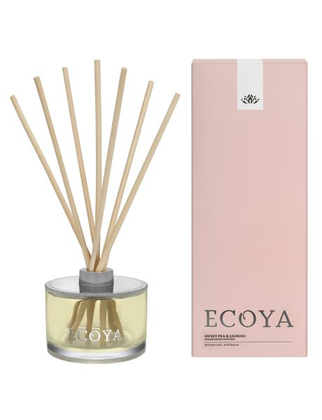 Ecoya Sweet Pea & Jasmine Reed Diffuser product photo