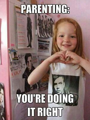 OMG!!!! Yes that little girl is freaking awesome!!!!! her parents are awesome to for.making her love such great music!