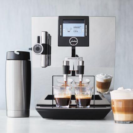 Jura Impressa J9 TFT One Touch Espresso Machine, Chrome | Sur La Table