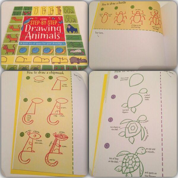Drawing animals #raisasbooks http://org.usbornebooksathome.co.uk/RaisBooks/catalogue/catalogue.aspx