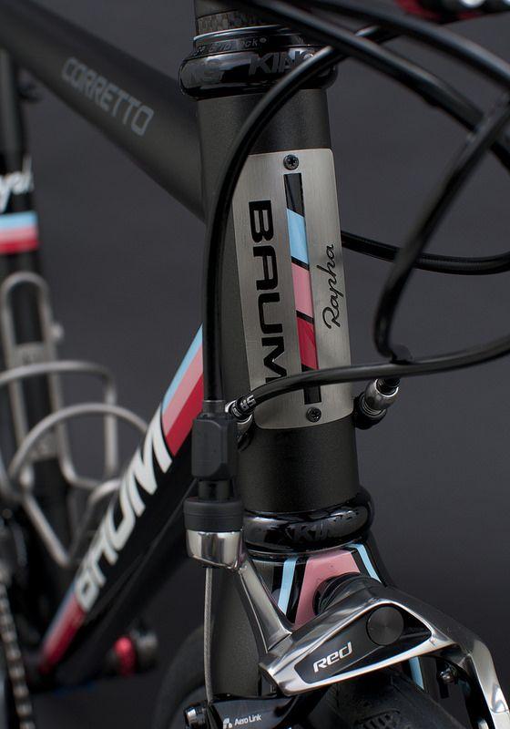 GTA, Matte Avon Black, Rapha Blue, Red, Pink, Corretto | von Baum Cycles