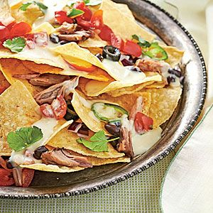 Pulled Pork Nachos   Super Bowl Appetizer Recipes - Southern Living Mobile