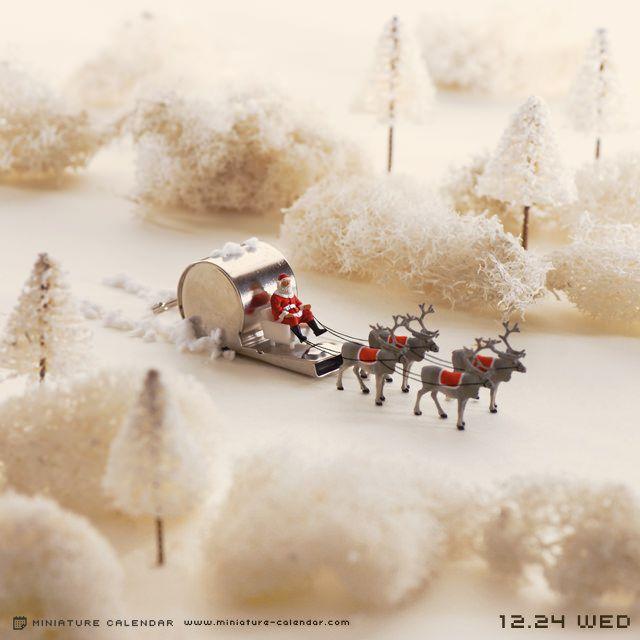 2014.12.24(水)/「ピッピッ♪ いっそげ♪ ピッピッ♪ いっそげ♪」