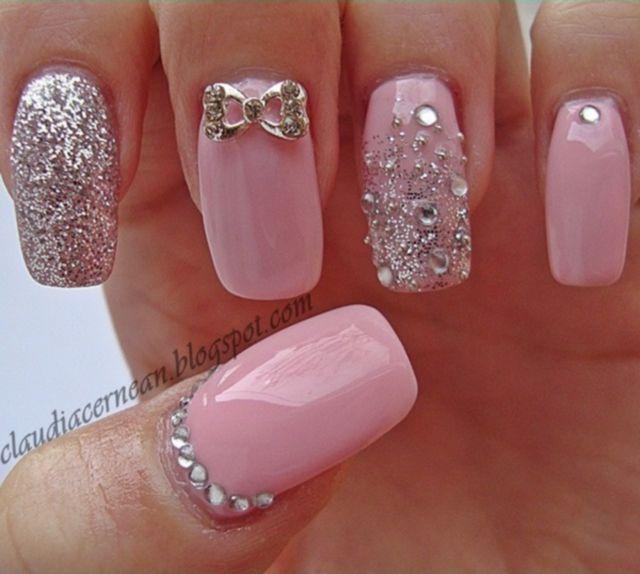 Stylish-pink-nail-art-ideas-amazing