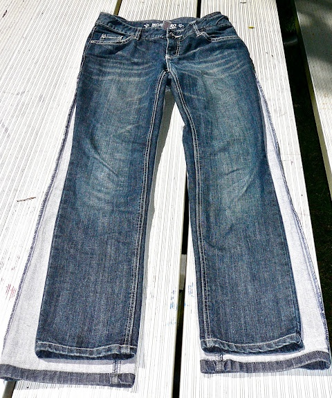 how to make skinny jeans
