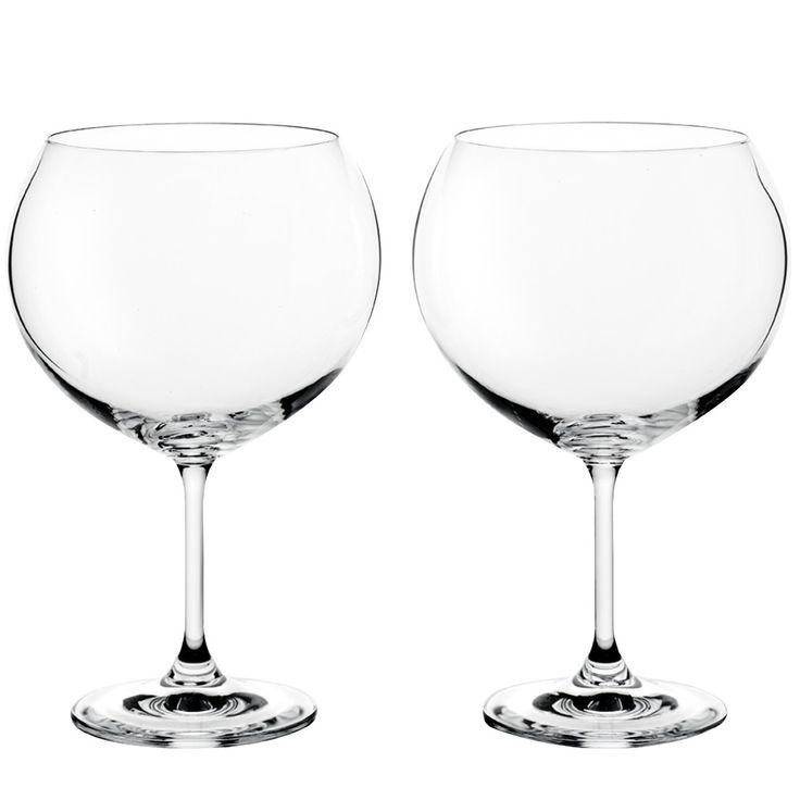 Juego de 2 copas bohemia gin tonic glassware for Copas bohemia
