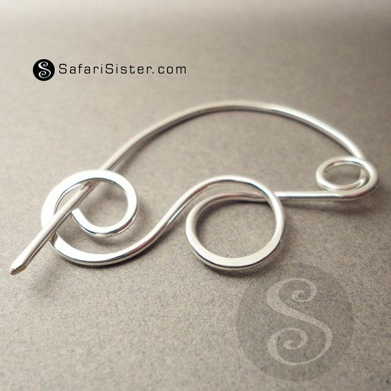 SafariSister Minoan Brooch IV Jewelry Finding by safarisister, $8.00