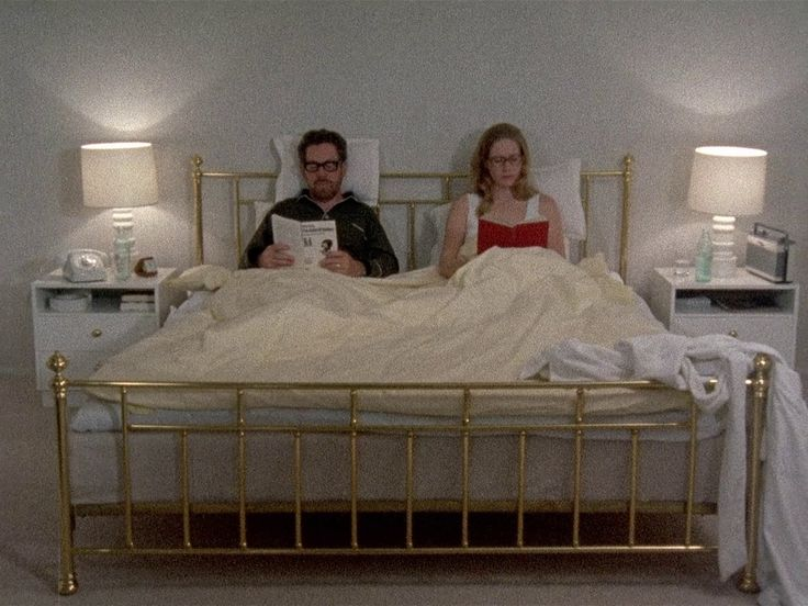 Reading in bed // Scenes from a Marriage // Bergman