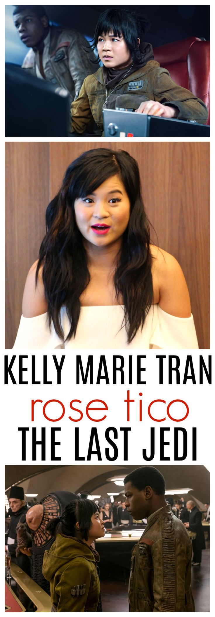 Kelly Marie Tran Interview | Star Wars: The Last Jedi, How Rose Tico Is