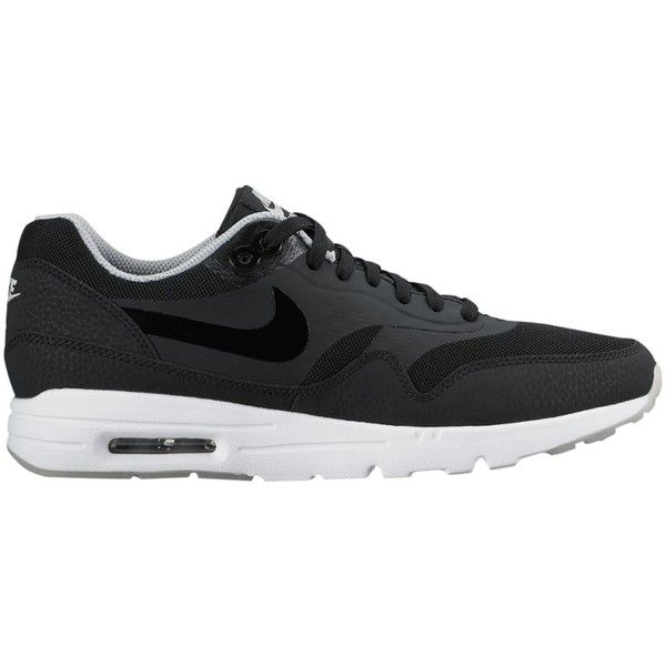 more photos 1f3a6 b3bfa ... urban outfitters nike air max 1 essential ultra womens trainers black  white ...