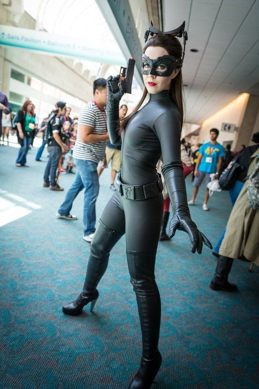 Catwoman Cosplay - #SDCC San Diego Comic Con 2014