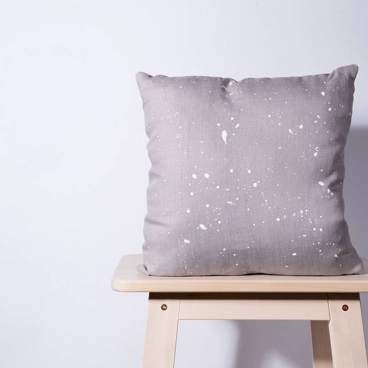 """29 Likes, 1 Comments - Karen (@me_and_zebedee) on Instagram: """"Who else is a fan of grey linen? This is the Paint The Town cushion cover, 100% handmade by me and…"""""""