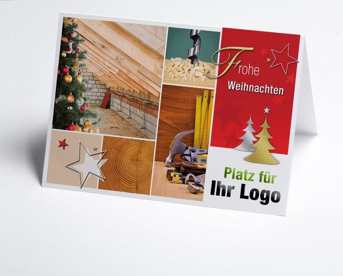 16 best images about branchen weihnachtskarten bau und. Black Bedroom Furniture Sets. Home Design Ideas