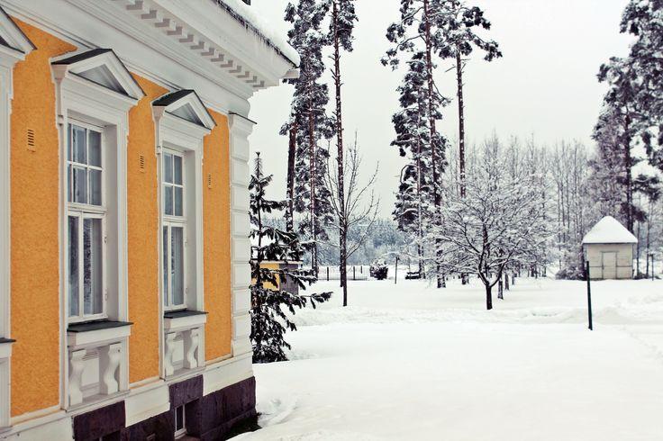 Tulevaisuuden Tekijöiden Heimon ensiaskeleet. Hirvihaaran kartano, Mäntsälä. Helmikuu 2015.