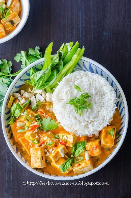 Tofu Panang Curry