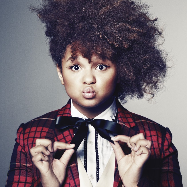 Rachel Crow is currently on X-Factor (US)  She is my FAVORITE. She has an amazing voice, and she's only 13!!
