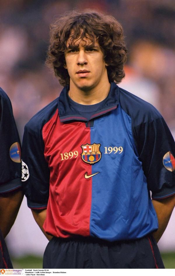 Oct. 2nd.1999 : Carles Puyol makes his first-team debut for Barcelona vs. Valladolid in La Liga.