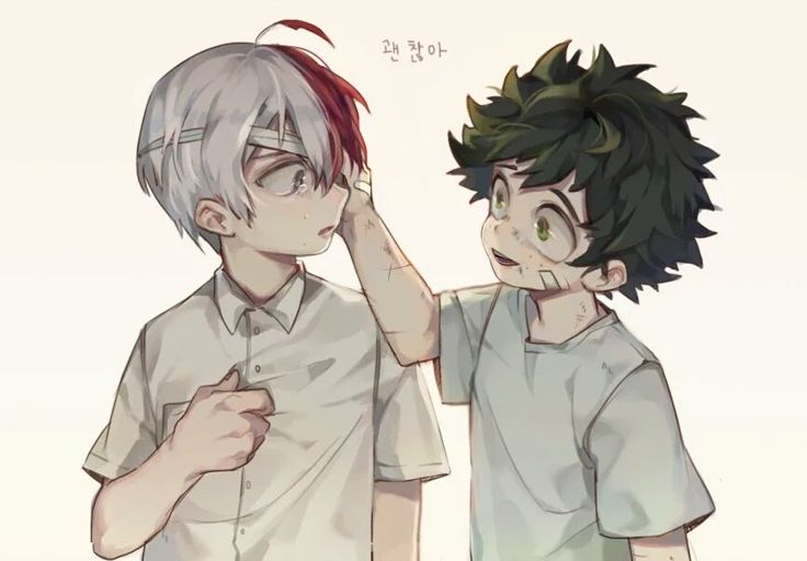 Boku no Hero Academia || Todoroki Shouto, Midoriya Izuku. WHAT'S WITH ALL THIS CUTENESS! !!!!!