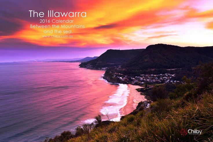 2016 A4 Illawarra Landscapes Calendar