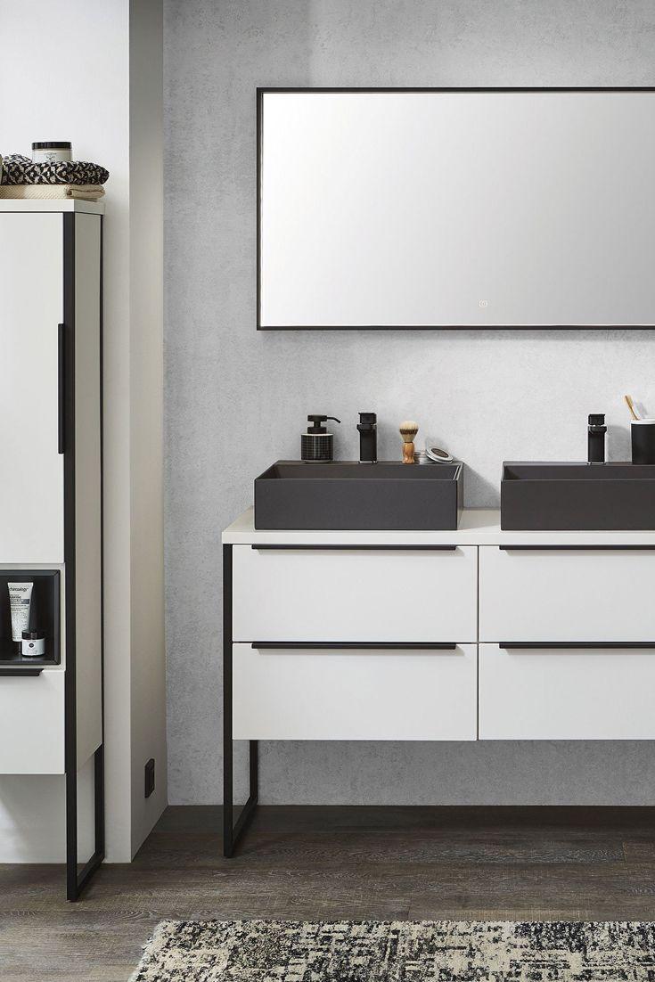 Badezimmer Aspekt Edelweiss Matt Von Puris Mobel Letz Ihr Online Shop Badezimmer Badezimmer Set Mobel Online Kaufen