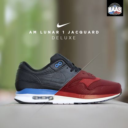 "Nike AM Lunar 1 Jacquard ""Deluxe"" | New Lunar Jacquards from Nike | www.sneakerbaas.nl | #Nike #Lunar #Jacquard #BaasBovenBaas"