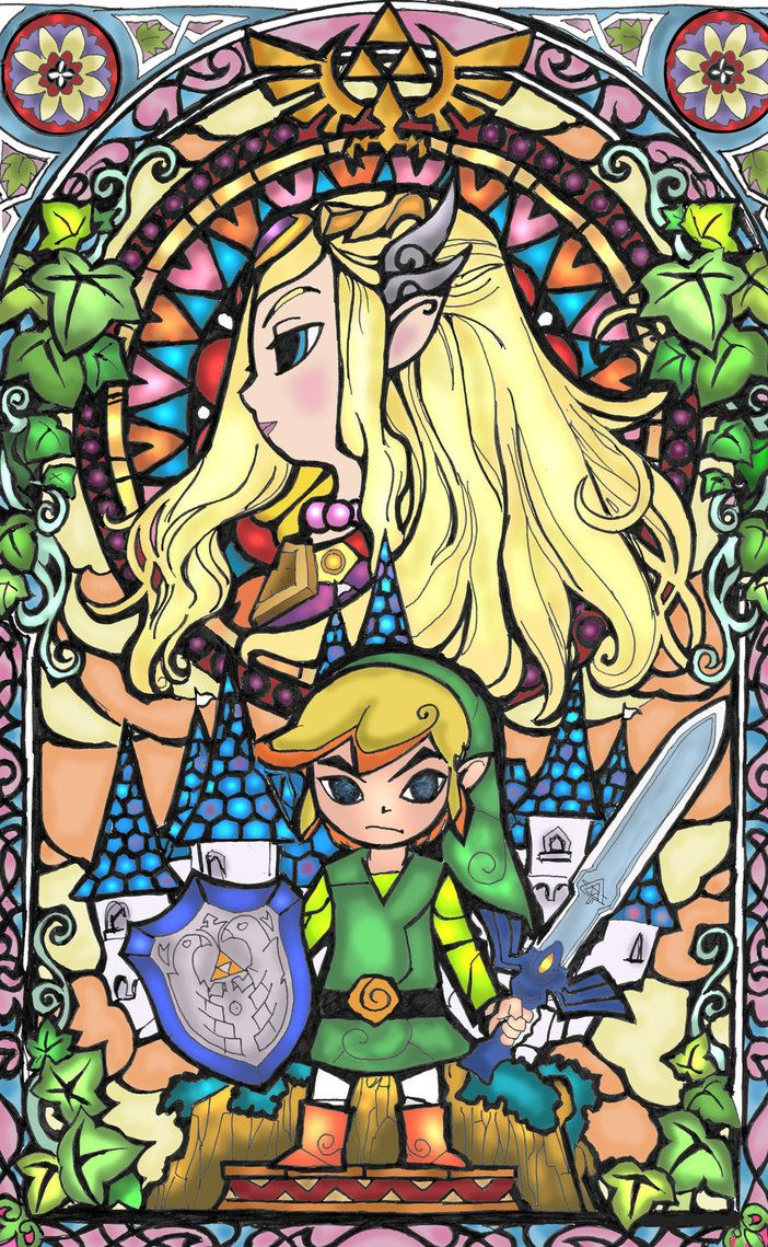 Coloring pages zelda - Find This Pin And More On Coloring Pages Anime Video Games Movies Cartoons