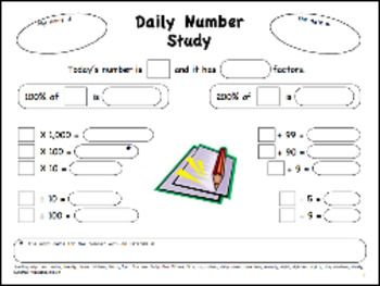 math worksheet : 1000 images about 3rd 4th grade daily math on pinterest  4th  : Daily Math Practice Worksheets