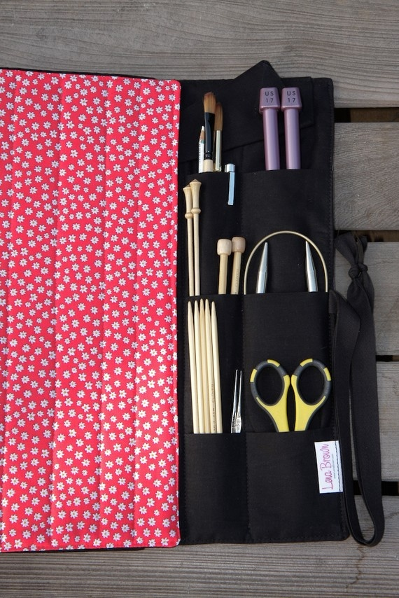 Knitting Organizer Michaels : Best images about pencil case roll on pinterest