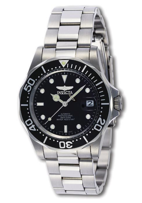 Invicta 8926 Men's Black Automatic Stainless Steel Dive Watch