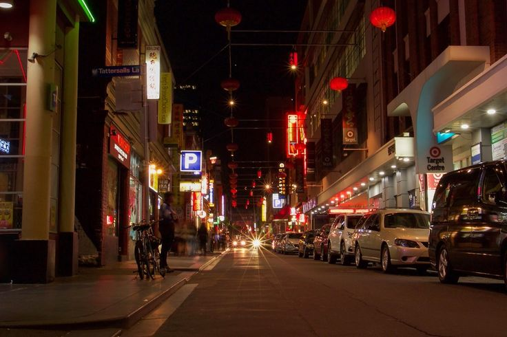 Chinatown in Melbourne, Australia, one of the oldest continually running Chinatowns in the world.   Why You Should Explore Melbourne by Night - Lost Boy Memoirs | Travel and Adventure Blog