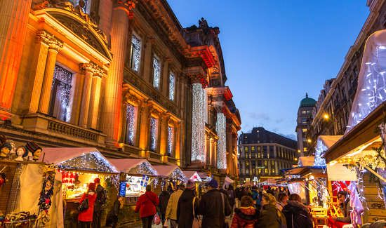 Week end Marchés de Noël Bruxelles avec 1 Entrée au Marché de Noël de Bruxelles à partir de 135€