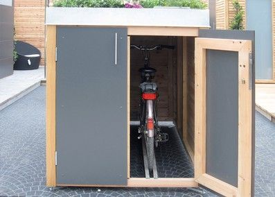 Müllhäuser und Fahrradhäuser - Stahl für den Garten und das Heimhttp://www.stahlelemente.com