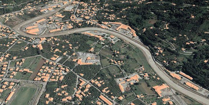 Plastico virtuale del fondovalle di Seravezza, 2005 - Alberto Antinori