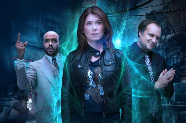 State of Syn with Jewel Staite and David Hewlett and Rainbow Sun Francks - pretty interesting show (and I still miss Stargate way too much)