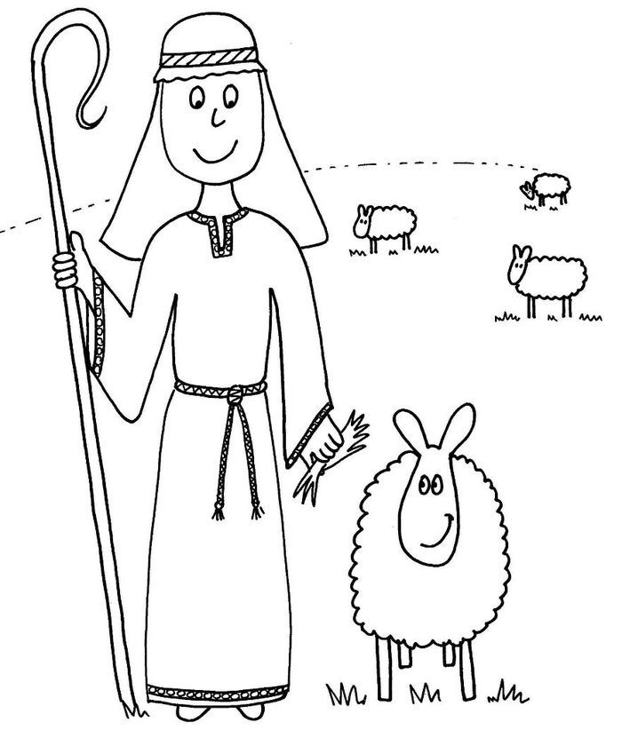 Funny Sheep Coloring Pages For Kids In 2020 The Lost Sheep