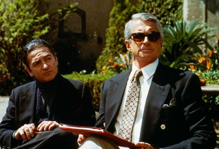 Don Novello as Dominic Abbandando, George Hamilton as B.J.Harrison - El padrino: Parte III (1990) - IMDb
